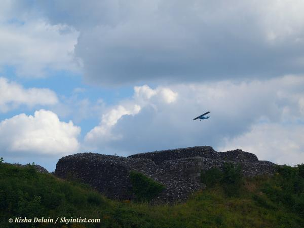 G-OHAL at Old Sarum